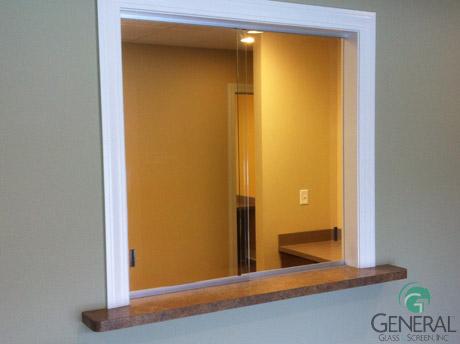 office glass windows. receptionist windows office glass k